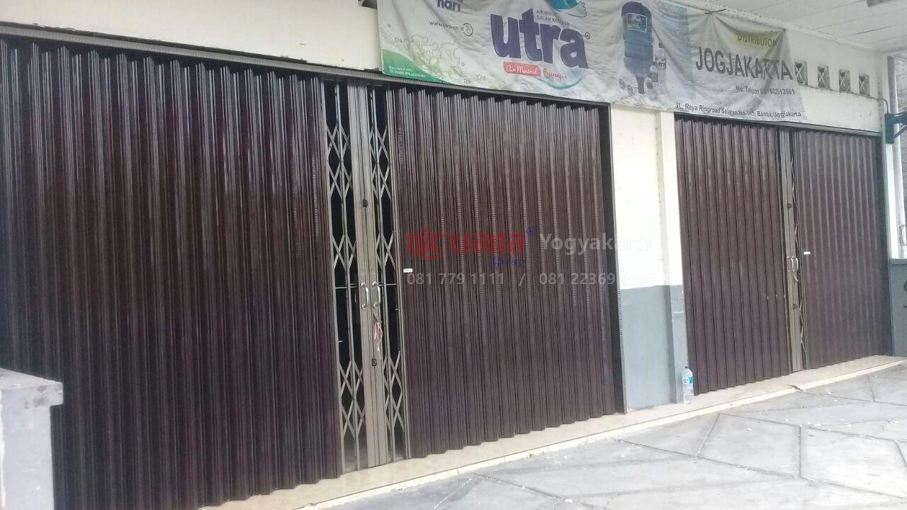 Pemasangan Folding Gate di Utra Jogja & Rosalia Indah Jogja ...