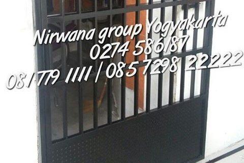 pintu pagar sliding nirwana grup yogyakarta solo semarang