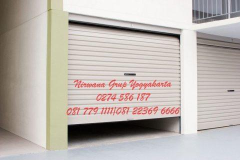 rolling door one sheet nirwana grup yogyakarta