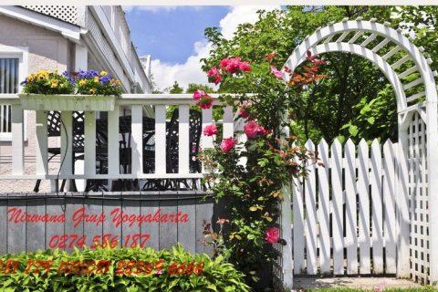 pemilihan warna pagar besi rumah jogja solo semarang