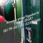 Pemasangan Pintu Folding Gate Standart Lokasi Beringharjo Yogyakarta