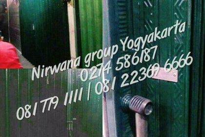 Pintu Folding Gate Standart Jogj Solo Semarang