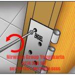 Menghilangkan Suara Berisik Pada Pintu