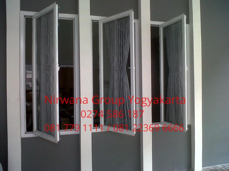 Tahap Memasang Kusen Jendela Aluminium Nirwana Group Yogyakarta