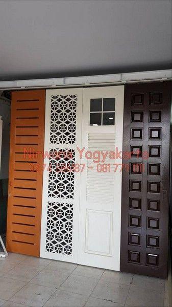Pintu Lipat Daun Premium Jogja Solo Semarang
