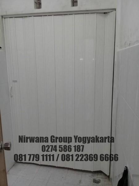 Folding Door PVC Jogja Solo Semarang