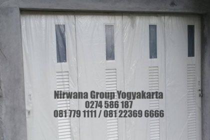 Pintu Lipat/Dorong Daun Premium Jogja Solo Semarang