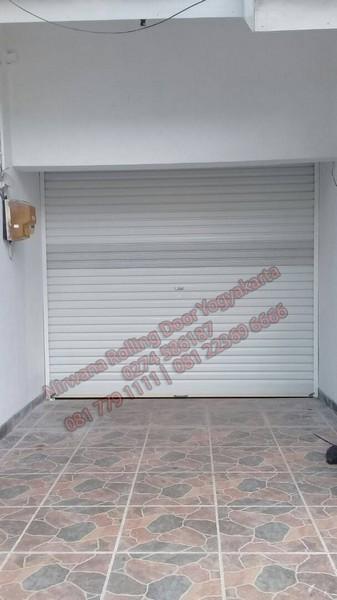 Pintu Rolling Door One Sheet Perforasi Perforated Lubang Yogyakarta Yang Sangat Awet dan Bagus Biasa untuk di Mall
