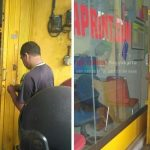 Service Folding Gate di Jl. Gejayan, Jogja
