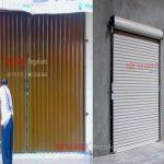 Perbedaan folding gate dan rolling door