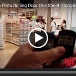 Video Rolling Door One Sheet Otomatis