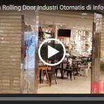 Video Rolling Door Industri Otomatis