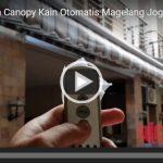 Video Canopy Kain Awning Otomatis
