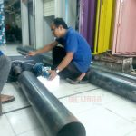 Pembuatan Roda Gulung Rolling Door Industri (Drum Wheel)