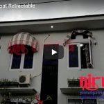 Video Canopy Kain Lipat Retractable