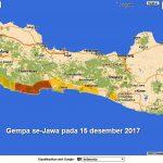 Gempa 15 Desember 2017 se-Jawa Berpotensi Tsunami