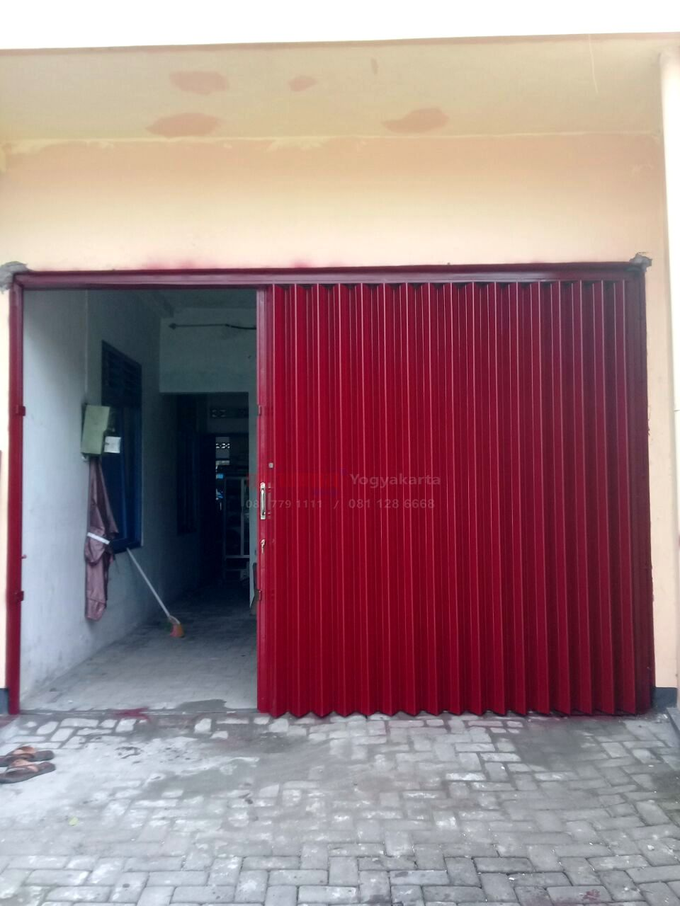 Pemasangan Pintu Harmonika Di Umbulharjo Yogyakarta