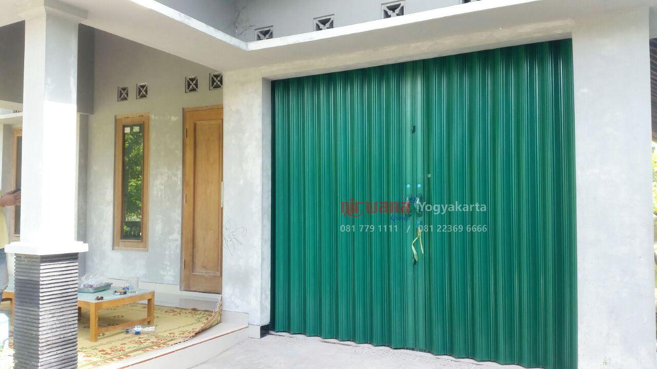 Pemasangan Pintu Folding Gate Jakartaan 0,4mm di Kepuh ...