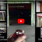 Video Rolling Door Industri Otomatis di Kawasan Industri, Semarang