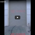 Rolling Door Industri Otomatis di Pusat Sains dan Teknologi Akselerator ( PSTA ) BATAN Yogyakarta