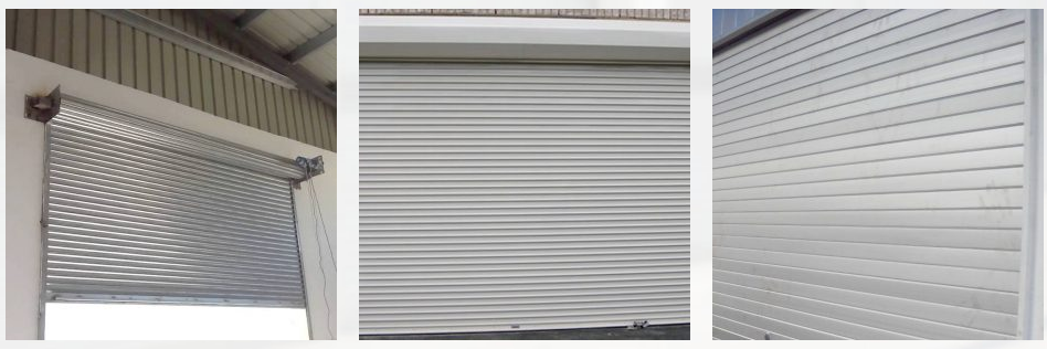 rolling door besi dan aluminium