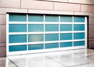 Glassy Garage Door