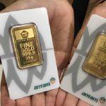 Penurunan Harga Emas 24 Karat Antam hari ini tanggal 5 Maret 2021