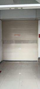 Rolling Door One Sheet 30cm Perforated di Bank Sinarmas Syariah