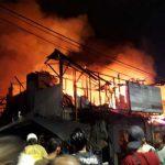 Kebakaran Besar terjadi di Pasar Kambing Tanah Abang Timbulkan Kerugian hingga Rp 1 Miliar Rupiah
