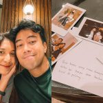 Vidi Aldiano Lamar Kekasihnya Sheila Dara Pada Moment Ulang Tahunnya yang ke-31
