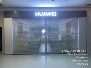 Door One Sheet Full Perforated di Huawei Solo Paragon