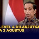 PPKM Level 4 Jawa Bali Diperpanjang Sampai 2 Agustus 2021