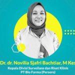 Dokter Novilia, Ketua Uji Vaksin Sinovac Meninggal karena Covid-19