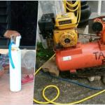 Oksigen Palsu Diduga Diisi Udara Kompresor Tambal Ban Ditemukan di Tulungagung, Jawa Timur