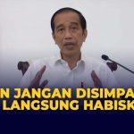 Presiden Jokowi Minta Stok Vaksin Jangan Disimpan