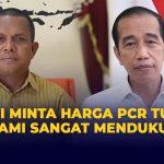 Presiden Joko Widodo Turunkan Harga Tes PCR Menjadi Rp 450.000-Rp. 550.000