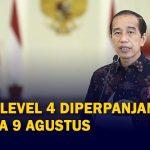 PJokowi Umumkan Perpanjang PPKM Level 4 hingga 9 Agustus 2021