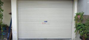 Rolling Door One Sheet Polos di Jl. Babaran