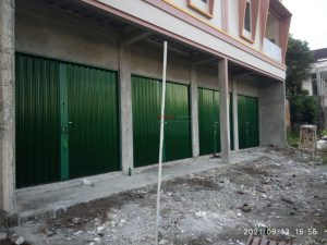 Folding Gate Premium 0,7mm di Jl Sidokarto