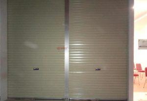 Rolling Door One Sheet Polos di Batik Semar