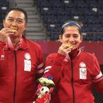 Leani/Hary Ganda Campuran Indonesia Dapatkan Medali Emas Dalam Bulutangkis Paralimpiade Tokyo 2020