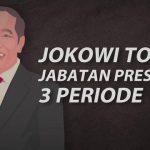 Presiden Jokowi Tepis Isu Presiden 3 Periode