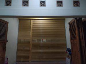 Rolling Door One Sheet 30cm Perforated di Magelang